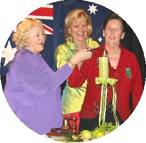 The Flame of Friendship has since become a special symbol at the opening and closing of all Inner Wheel meetings across Australia