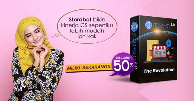 Storabot Toko Online Facebook
