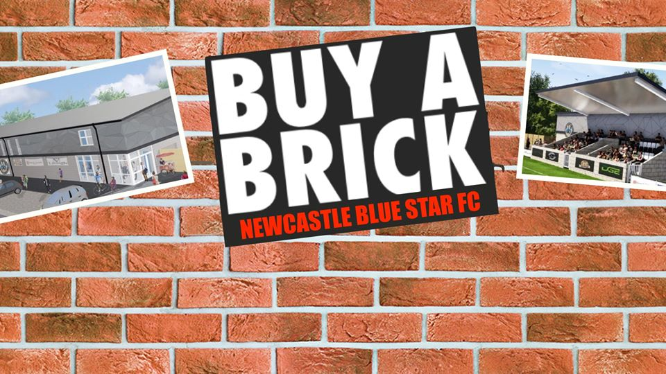 Newcastle Blue Star – Buy A Brick Campaign