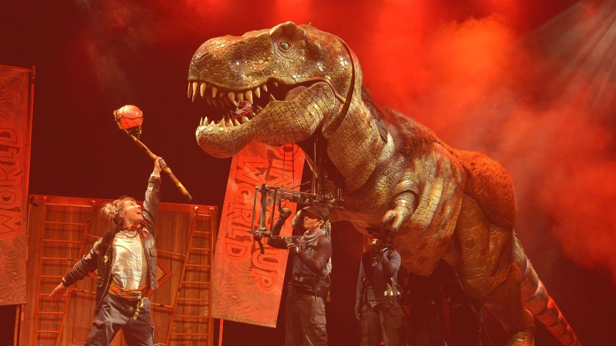 Dinosaur World Live heads to Virgin Money Unity Arena for the region's families