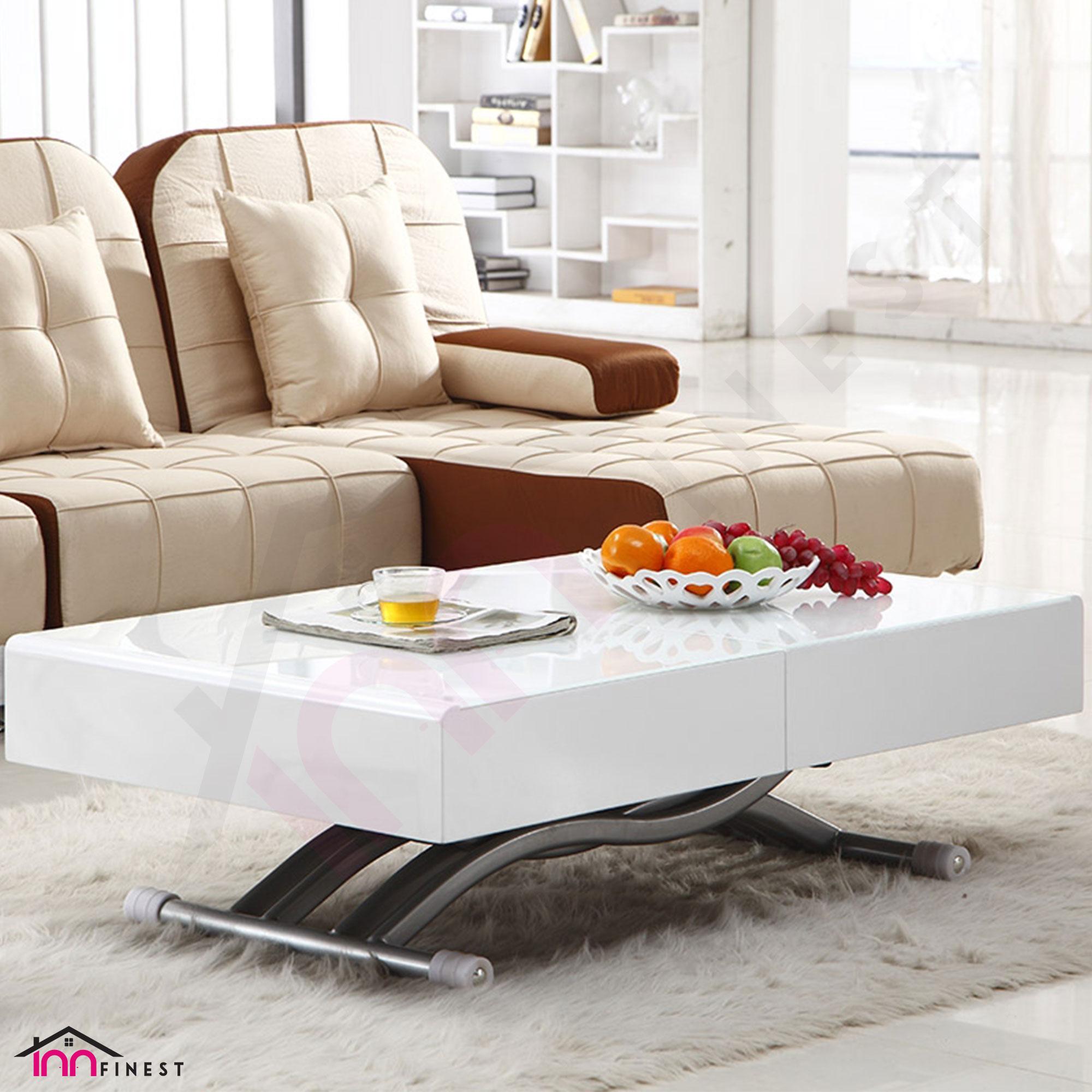 adjustable coffee dining table