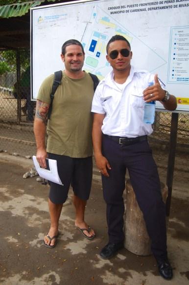 Nicaraguan Immigration Officer