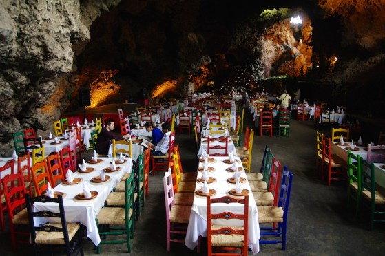 La Gruta Restaurant: Mexico City, Mexico