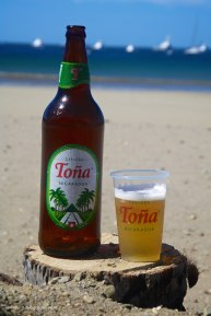 TOÑA: A golden lager that has an alcohol content of 4.6%. It is one of the most popular beers in Nicaragua.