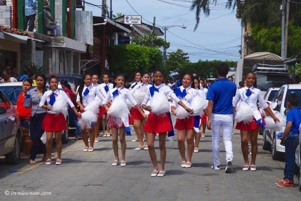 Celebrations of Independence in San Juan del Sur, Nicaragua