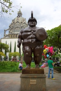 Roman Soldier: Botero Plaza, Medellin, Colombia