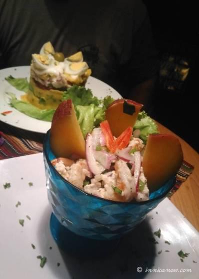 Passionfruit Ceviche & Causa Limeña