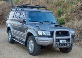 2001 4x4 Hyundai Galloper
