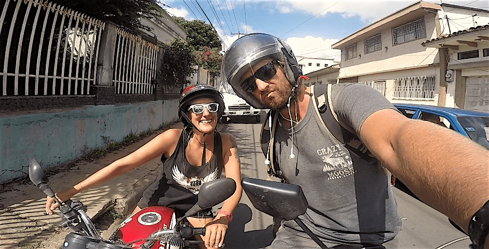 Carares Nicaragua moto ride