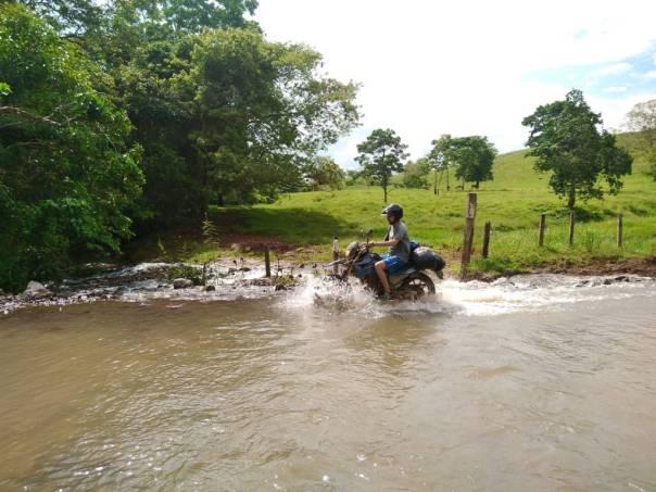 River crossing San Juan del Sur to Pearl Lagoon, Nicaragua