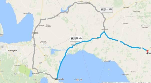 Motorcycle Ride: San Juan del Sur to Pearl Lagoon, Nicaragua