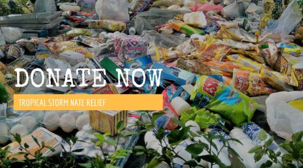 Donate Now: Tropical Storm Nate Relief