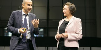 Luisa Arienti, Amministratore Delegato di SAP Italia e Ranieri Niccoli, Chief Manufacturing Officer, Member of the Management Board di Automobili Lamborghini