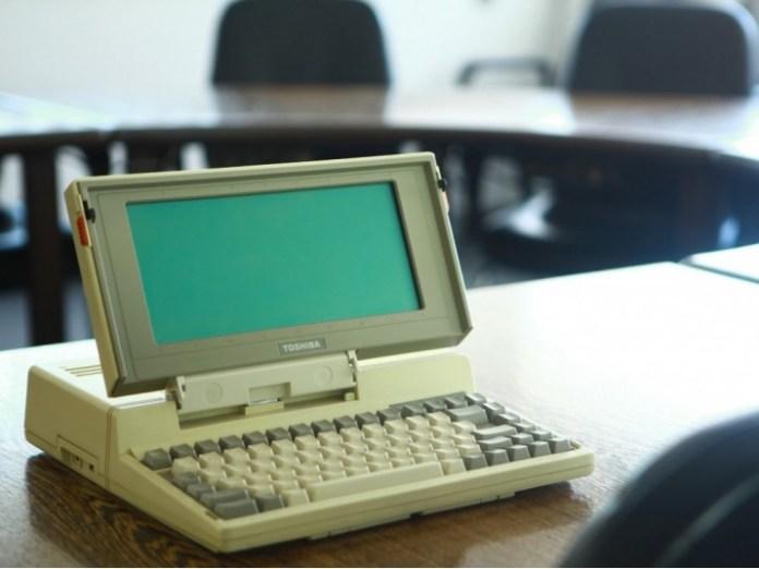 Toshiba - primo laptop lanciato nel 1985
