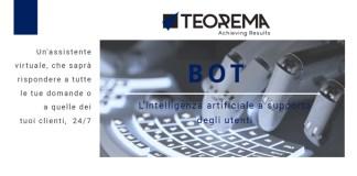 BOT - L'intelligenza Artificiale a supporto degli utenti