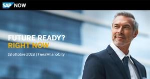 SAP NOW Milano @ FieraMilanoCity   Milano   Lombardia   Italia