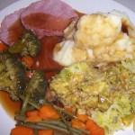 >Day 16 – British Sunday Dinner with a WW Twist