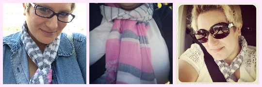 joules scarf close up