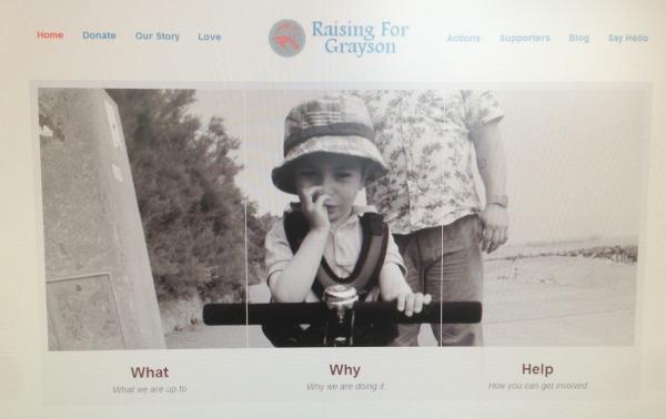 Raising For Grayson