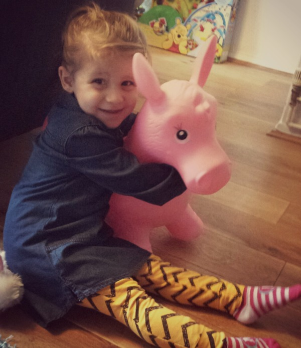 addison and pink horsey