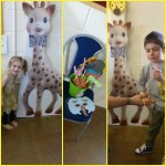 Sophie Le Giraffe Goes To The Zoo Party