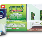 Jungle Bedroom Makeover with Dulux