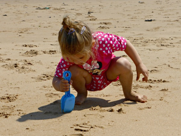 Addison the beach baby