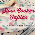 Slow Cooked Chicken Fajita Recipe