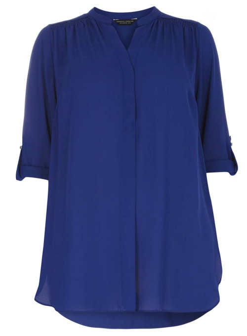 Cobalt Blue DP Curve Top