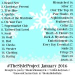 #TheStyleProject // January 2016!!