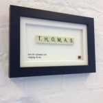 Frame It Friday // Personalised Name Art