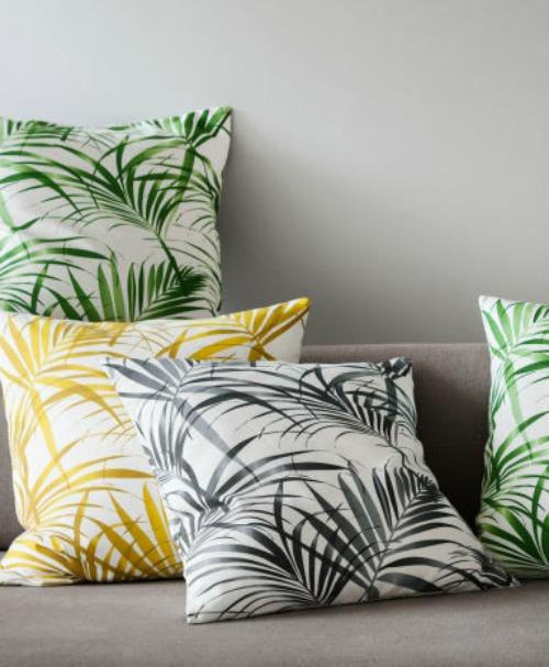 H & M Cushions