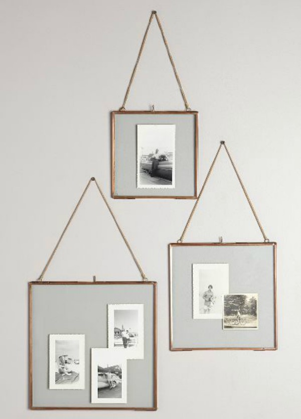 Copper Hanging Frames
