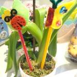 Crafts // Mini Beast Pencil Toppers With Bostik