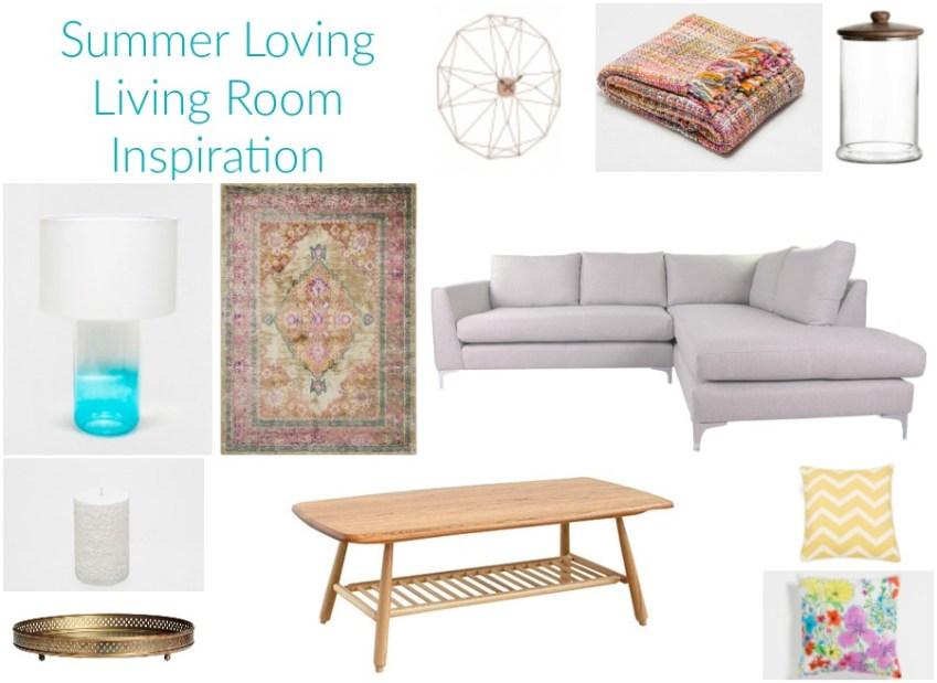 Living Room Inspiration for Summer