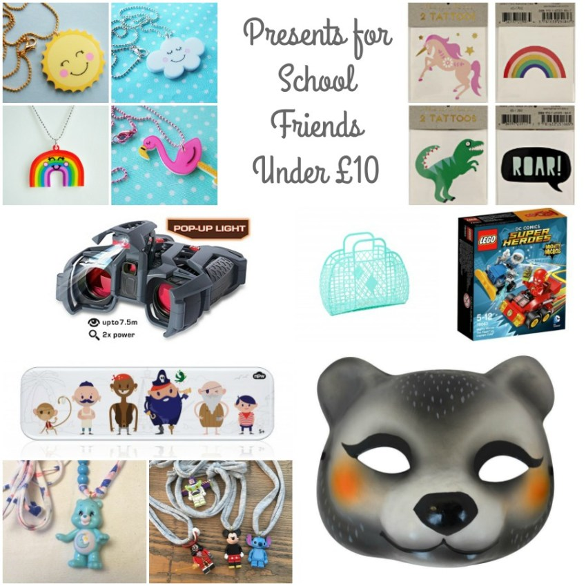 My top present picks for under £10 when buying gifts for kids school friends / Innocent Charms Chats