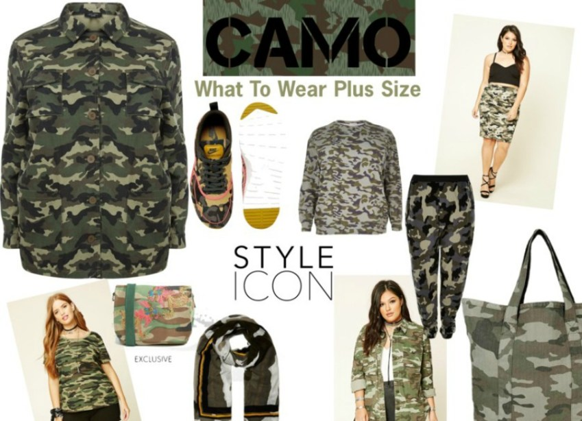Just cause you are plus size does not mean you can not wear Camo this season _ Innocent Charms Chats