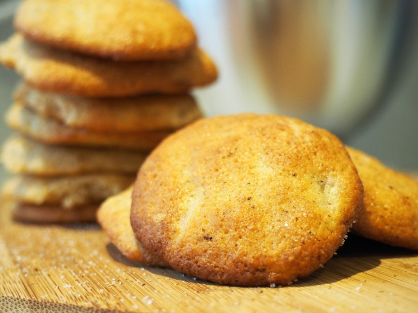 A recipe for Soft, cake style Banana Cookies from Innocent Charms Chats