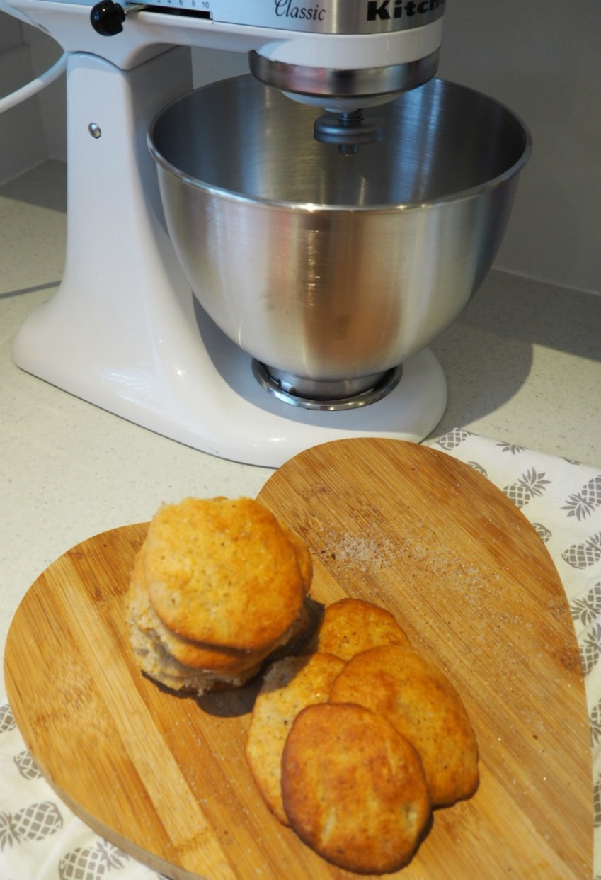 A recipe for simple yet delicious Banana Cookies from Innocent Charms Chats