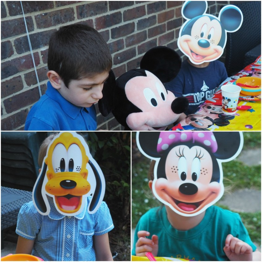 Disney Party from the Disney Store offers everything you need to throw the most amazing Mickey Mouse Party featured at Innocent Charms Chats