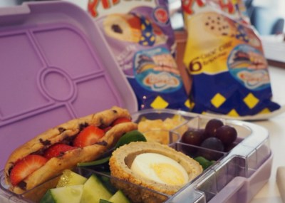 Find Back to School Packed Lunches ideas for both Parent and Kids, including alternatives to Sandwiches featuring Brioche Pasquier