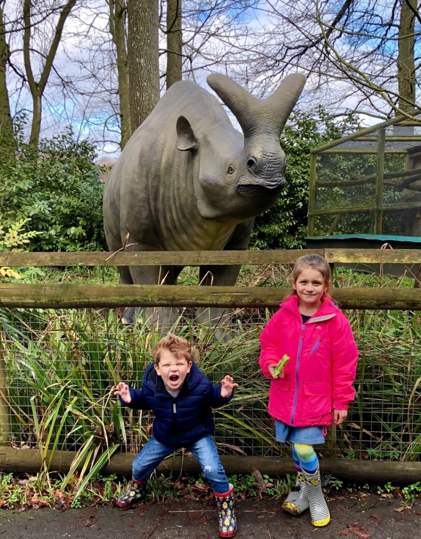 Check out our review of the new exhibition at Howletts Wild Animal park showcasing The Animals of the Ice Age // Innocent Charms Chats