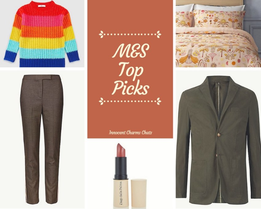 M & S Must Haves for January 2019 from Innocent Charms Chats