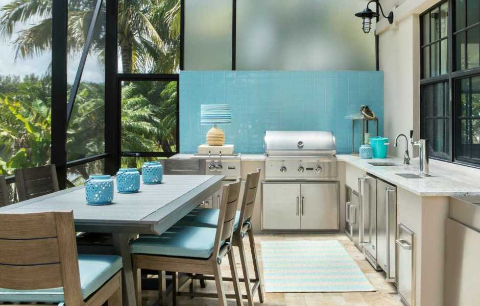 9 Tips for designing the ideal outdoor kitchen