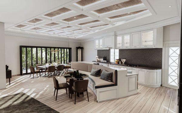 Kitchen 3D Render Design