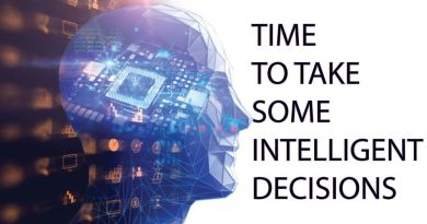 Time to take some intelligent decisions