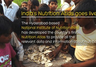 India's first Nutrition Atlas to provide all the relevant data and information about nutrition