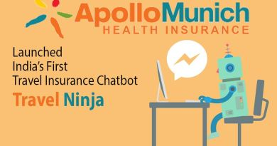 Apollo Munich Health Insurance launched India's First Travel Insurance Chatbot: Travel Agent