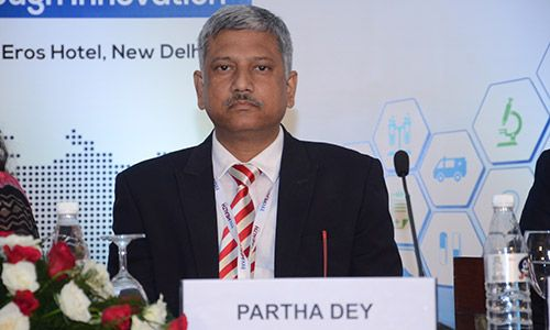 Partha Dey at InnoHEALTH conference