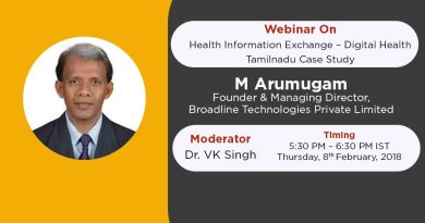 InnovatioCuris Webinar 9 on Digital Health - Tamilnadu Case Study